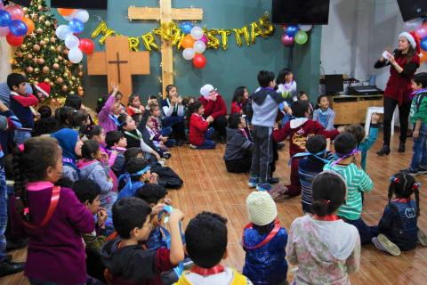 Christmas Event for Syrian Refugees Kids