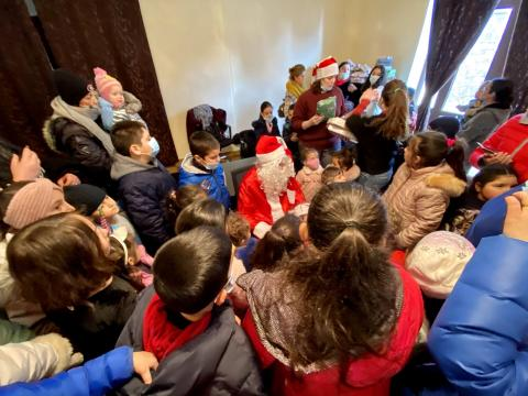 Children's Christmas Event at SOL Armenia