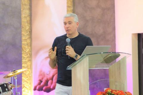 Healing Service at the Evangelical Church Faith in Apovyan - Mission in Armenia 2018