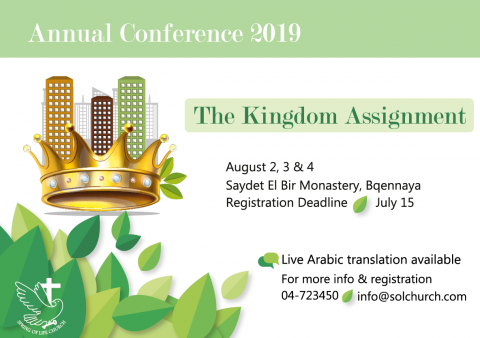 Annual Conference 2019: The Kingdom Assignment