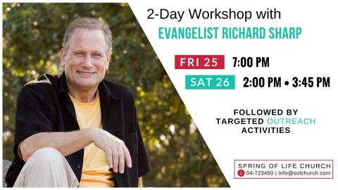 2-Day Workshop with Evangelist Richard Sharp